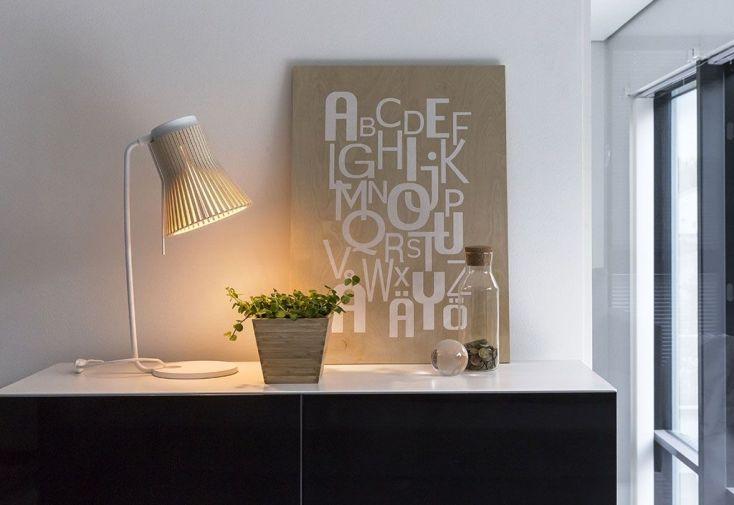 """Lampe de Bureau Design """"Petite"""" 20x27x56cm"""
