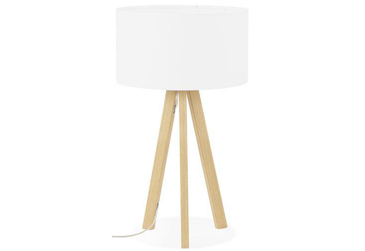 Lampe à Poser Kokoon Design Trivet Mini Blanc