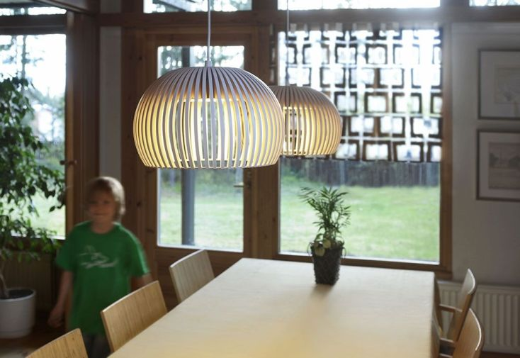 Lampe Suspension Atto 5000 blanc
