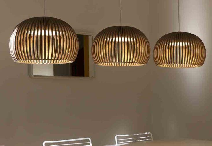 Suspension LED Atto 5000 noire