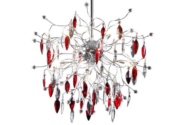 Lampe suspension design en cristal picass 3 coloris linea verdace - Lampes suspension design ...