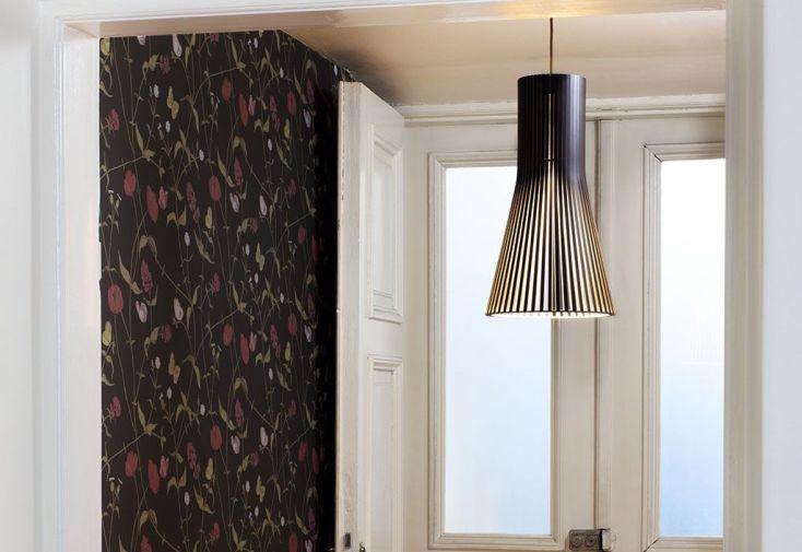 Suspension LED Secto 45 cm noire