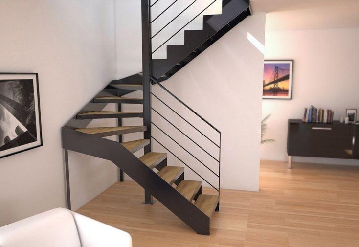 escalier 2 4 tournant prix plus with escalier 2 4. Black Bedroom Furniture Sets. Home Design Ideas