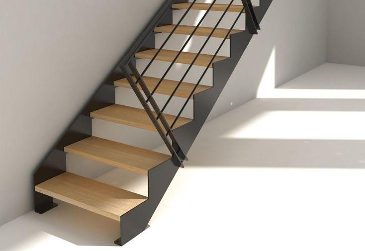 escalier quart tournant 280