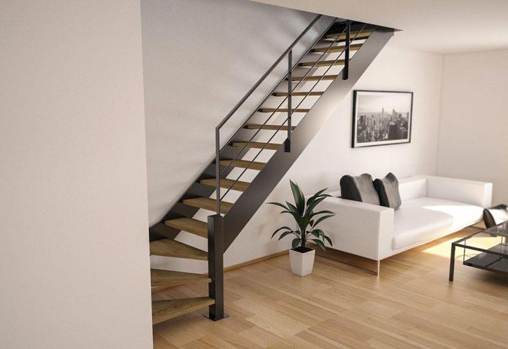 limons copenhague pour escalier quart tournant en acier. Black Bedroom Furniture Sets. Home Design Ideas