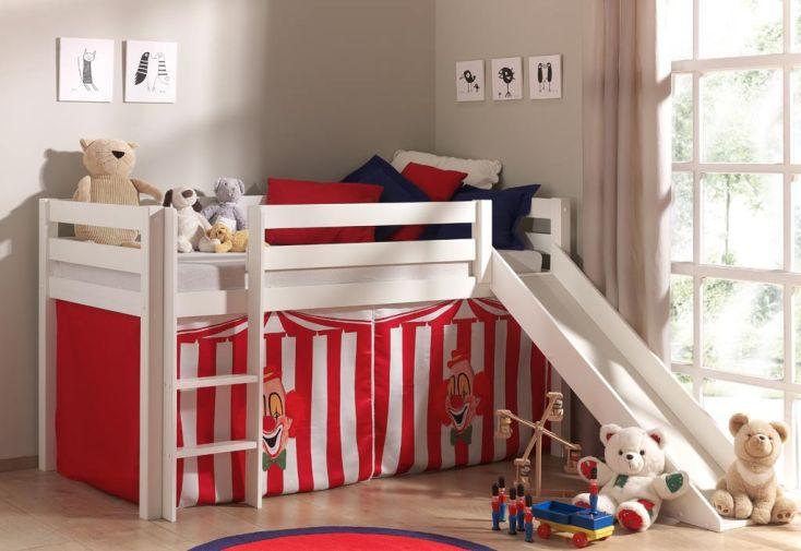 lit mezzanine enfant avec toboggan cabane sous le lit 8 d cors lit mezzanine blanc pour. Black Bedroom Furniture Sets. Home Design Ideas