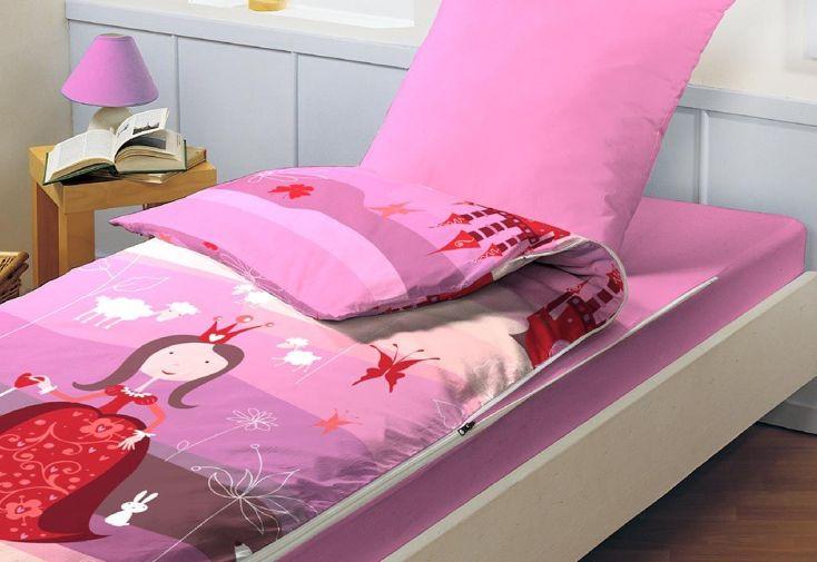 Lit Tout Fait Prêt à Dormir Caradou 90x190cm Lilla Mauve