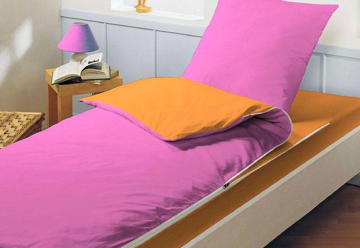 Lit Tout Fait Prêt à Dormir Caradou 90x190cm Rose/Orange