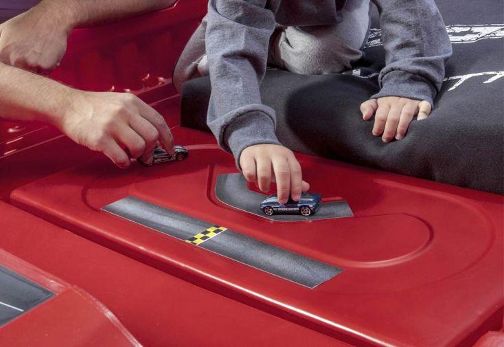 Lit pour Enfant Corvette Z06 avec Lumières