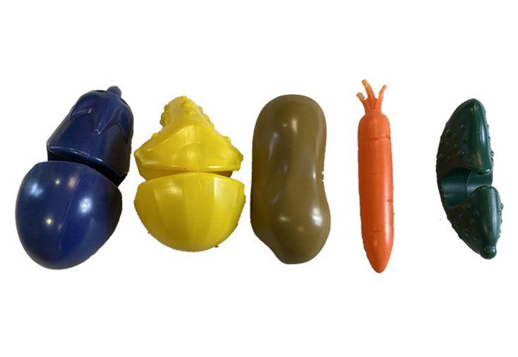 Set de 5 légumes et curcubitacées pour enfants