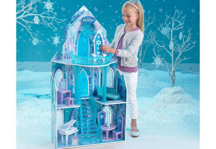 Maison de Poupées Disney Le Château de Glace de la Reine des Neiges