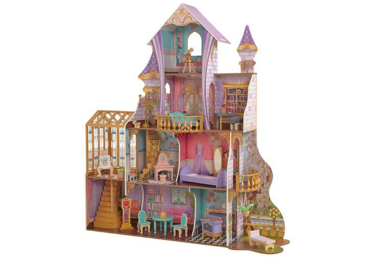 Grande maison de poupées Kidkraft 150 cm Château Solarium Enchanté
