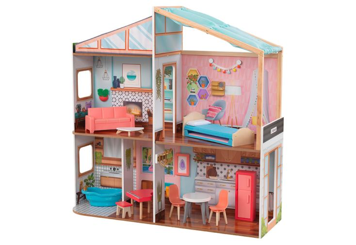 Maison de poupée en bois Kidkraft Magnetic Makeover 90 cm
