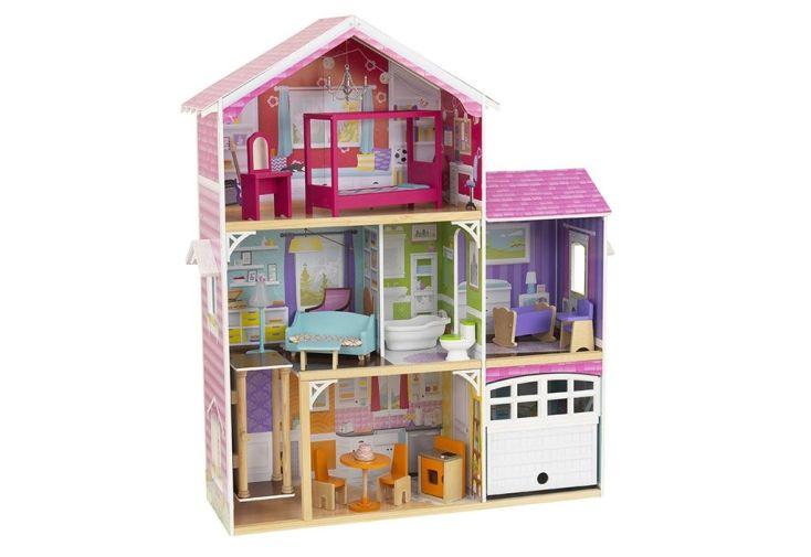 maison de poupées en bois 120 cm Kidkraft Avery pour Barbie