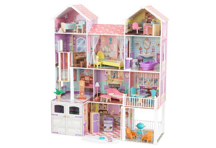 Maison de poupées Kidkraft en bois Country Estate 134 cm + 30 accessoires