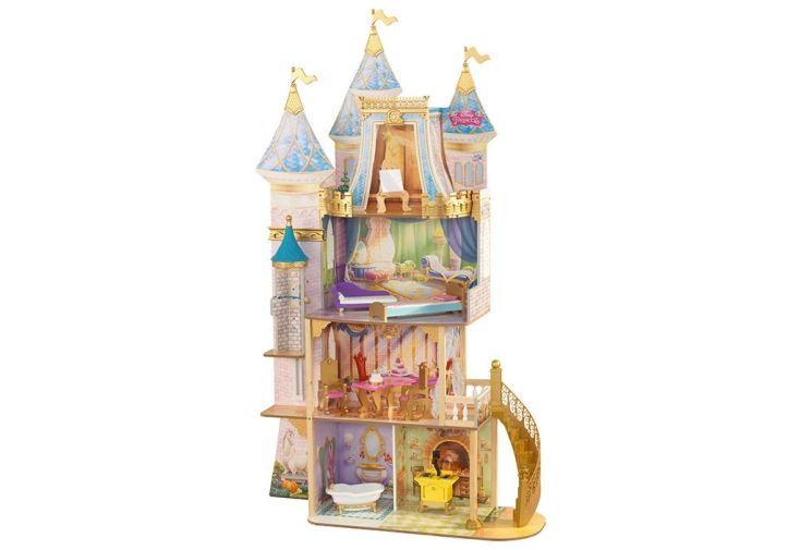 maison de poupées en bois Disney château de princesses