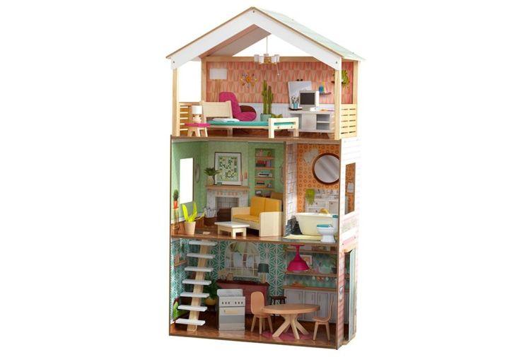 maison de poupées en bois Kidkraft pour Barbie 1,20 m