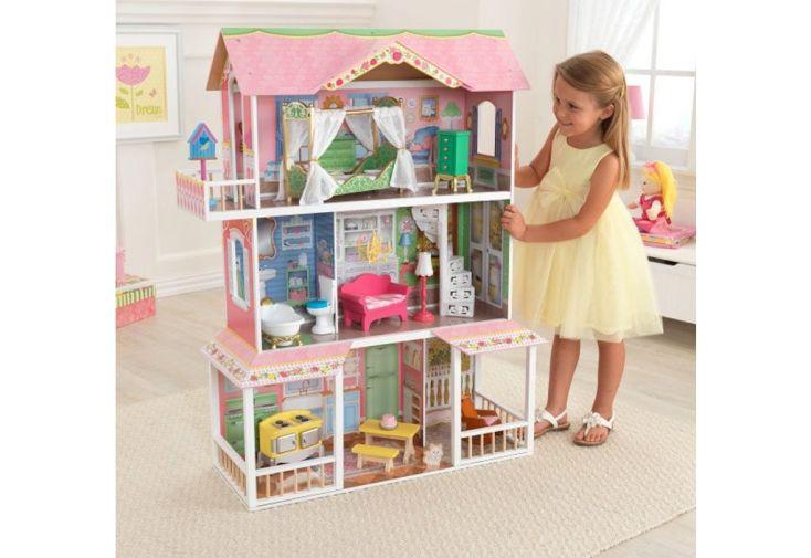 maison de poupées en bois