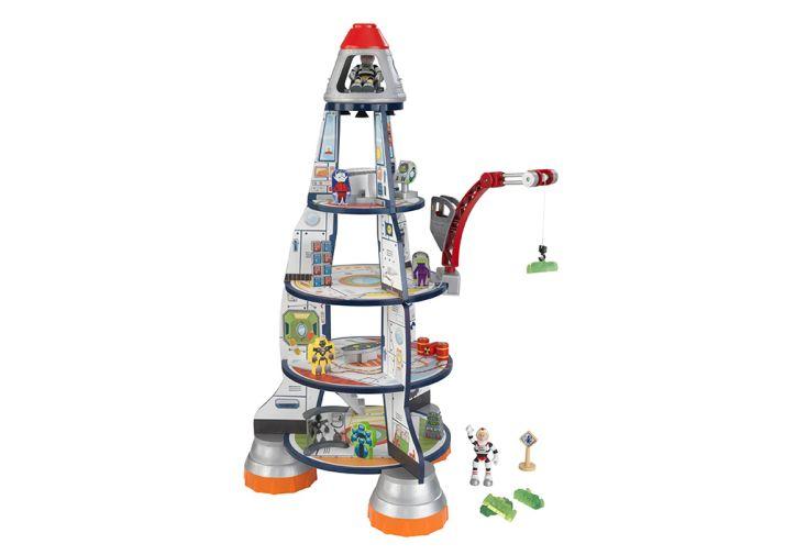 Maison de poupée vaisseau spatial Kidkraft bois composite