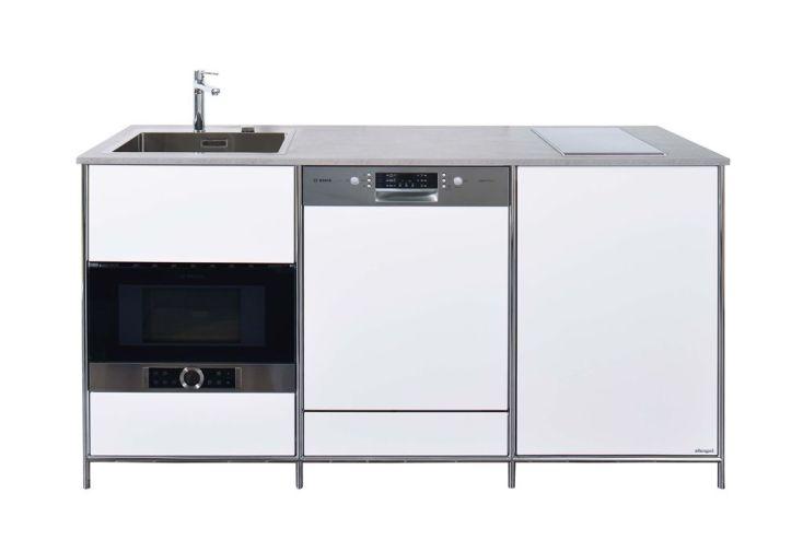 meuble bas de cuisine à équiper totalement 190 x 67 x 98,5 cm