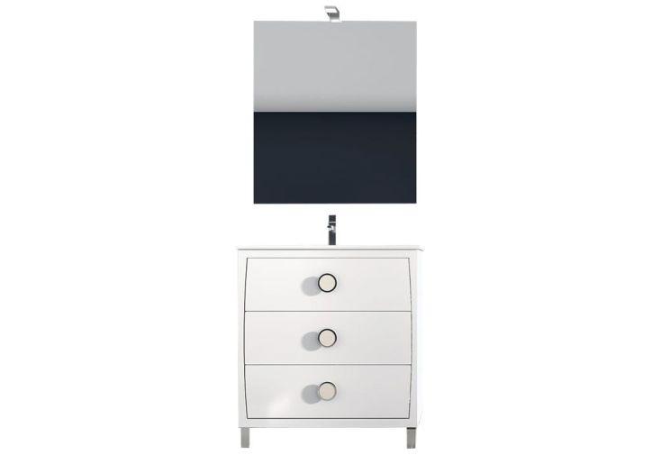 meuble de salle de bain kur disponible en plusieurs dimensions