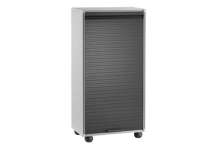 meuble de rangement haut en r sine pour garage 62 5x126cm garofalo. Black Bedroom Furniture Sets. Home Design Ideas