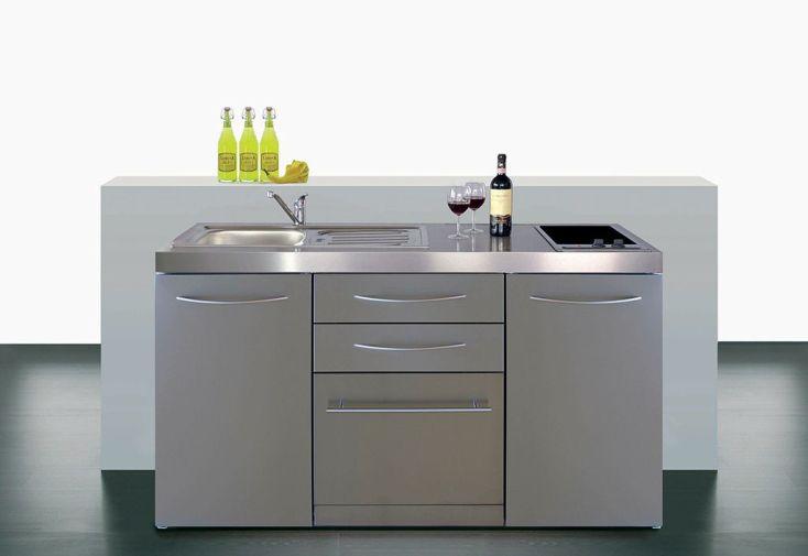 Mini-Cuisine avec Frigo, Lave-Vaisselle et Induction MPGSES 160