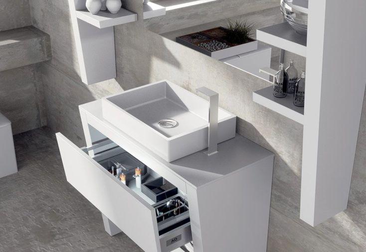 meuble de salle de bain tag res miroir et eclairage eclipse 29 ad bath. Black Bedroom Furniture Sets. Home Design Ideas