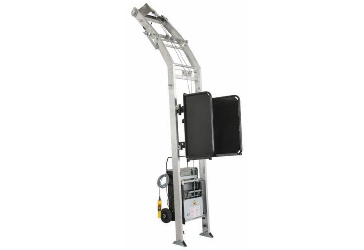 Monte-matériaux à échelles en aluminium Haemmerlin Maxial Excellium 200/30