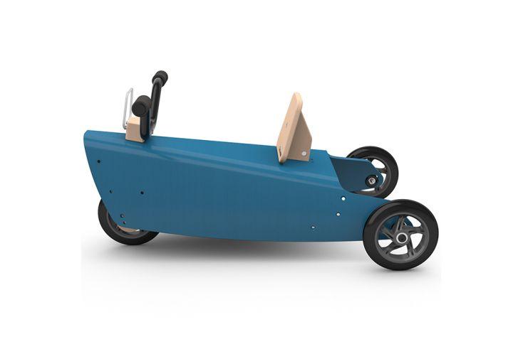 Porteur en bois de hêtre pour enfant entièrement recyclable