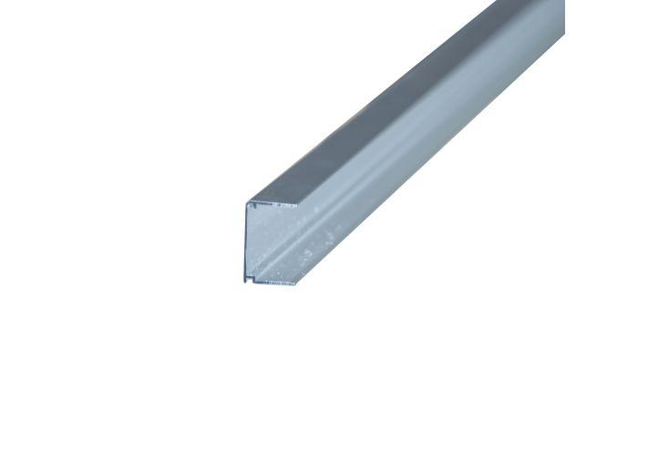 Profil obturateur pour plaques de polycarbonate 32 mm en aluminium brut