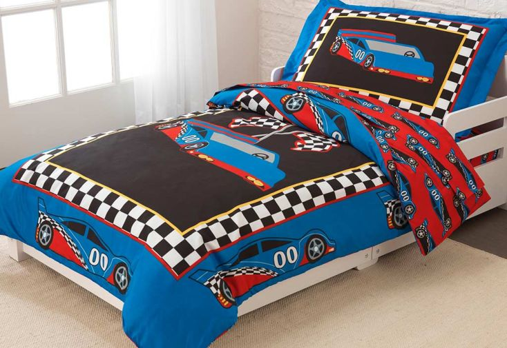 parure de lit pour enfant voiture de rallye kidkraft. Black Bedroom Furniture Sets. Home Design Ideas