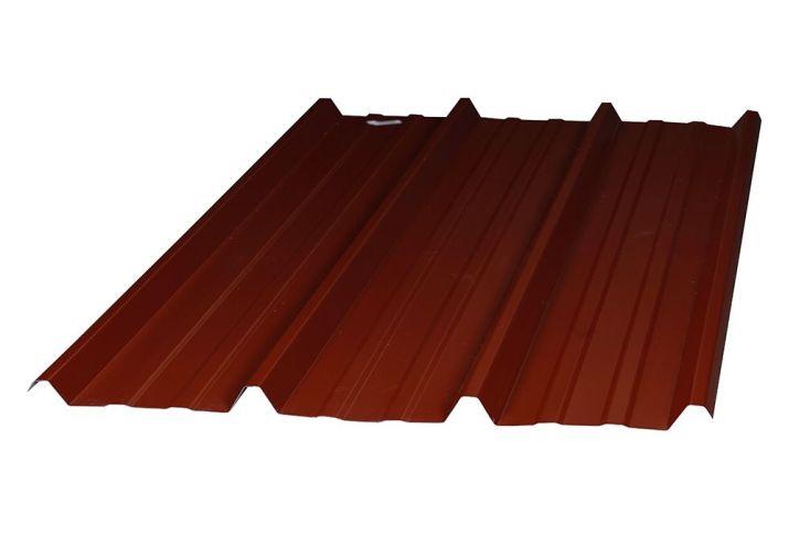 plaque nervur e en acier 2 5m 63 100e 2 coloris partir de 5 plaques dhaze. Black Bedroom Furniture Sets. Home Design Ideas