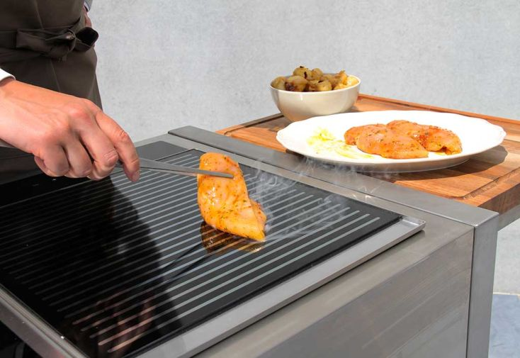 Plaque de cuisson Infrarouge Grill 2400 W (40x52cm)