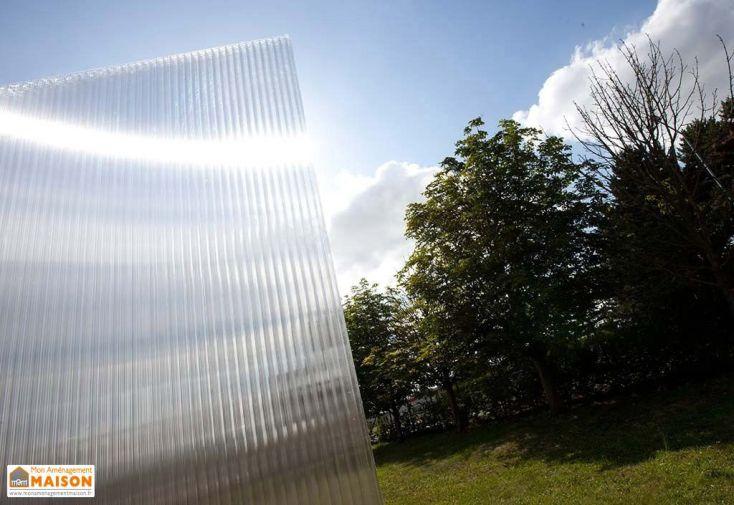 Plaque Polycarbonate Alvéolaire 16mm 1,5x0,98m Claire