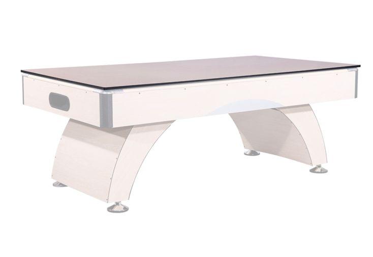 Plateau dinatoire pour table de billard en bois coloris hêtre