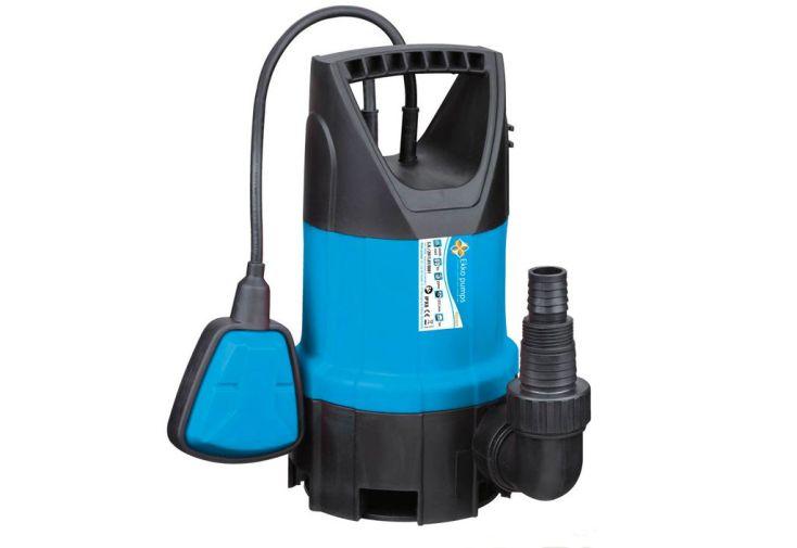 pompe vide cave pour eaux charg es 400w ekko pumps. Black Bedroom Furniture Sets. Home Design Ideas