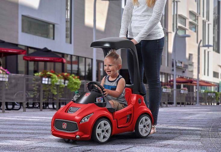 porteur enfant voiture coup sport rouge step2. Black Bedroom Furniture Sets. Home Design Ideas