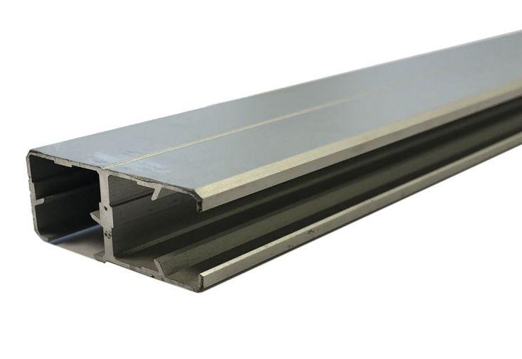 profil d'angle en aluminium pour verre synthétique