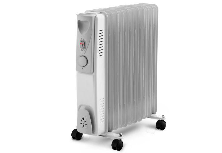 Chauffage électrique radiateur à bain d'huile 2500 Watts