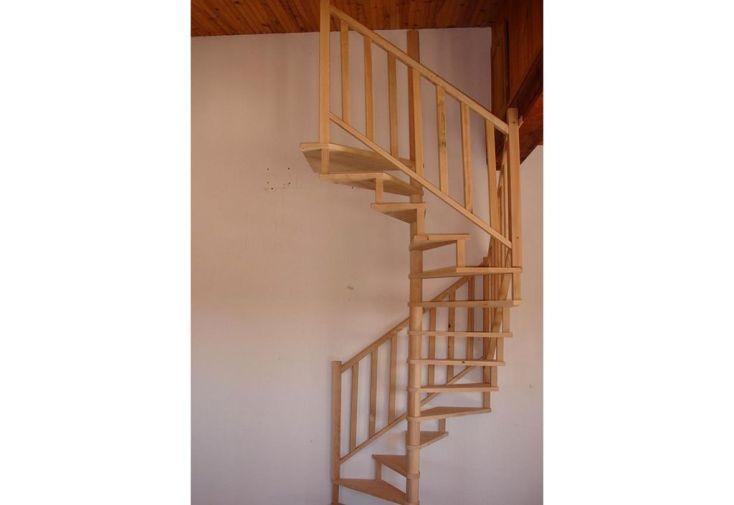 Rampe pour 4 Marches Escalier Hélicoïdal