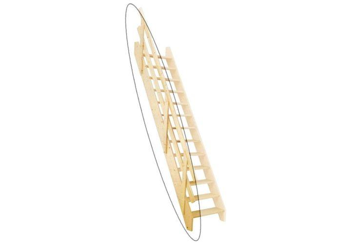 Rampe pour Escalier à Pivots Réglables Levigne