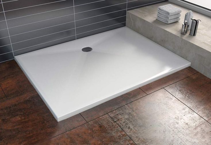 Receveur de douche encastrer vals 3 dimensions kolpa for Receveur douche a encastrer