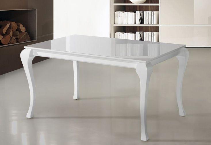 salle manger ba en htre laqu table extensible 140200x90 4 ch