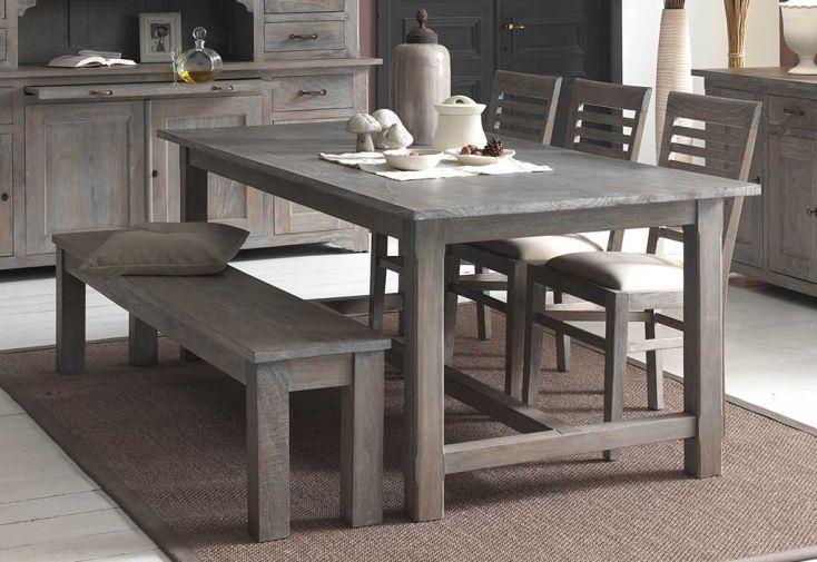 salle manger 6 places en mindi gris bellona b cosy