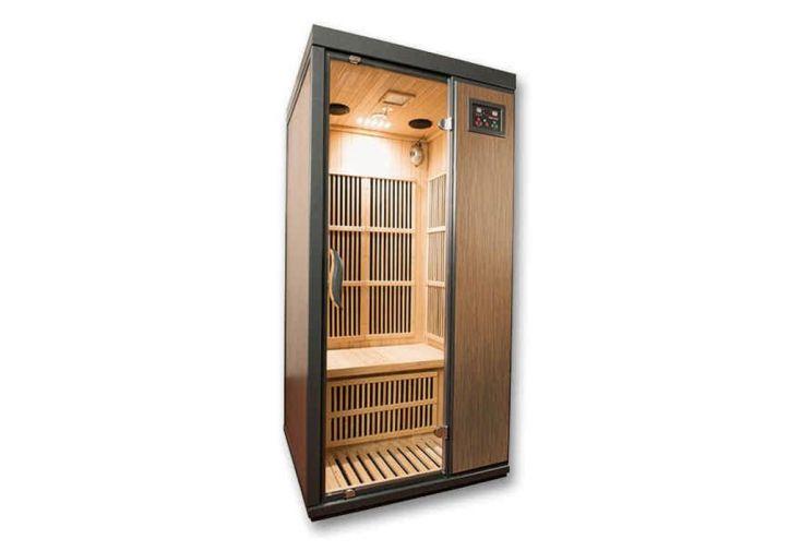 Sauna Infrarouge en Bois de Hemlock 1 Personne Mountfield Corinna