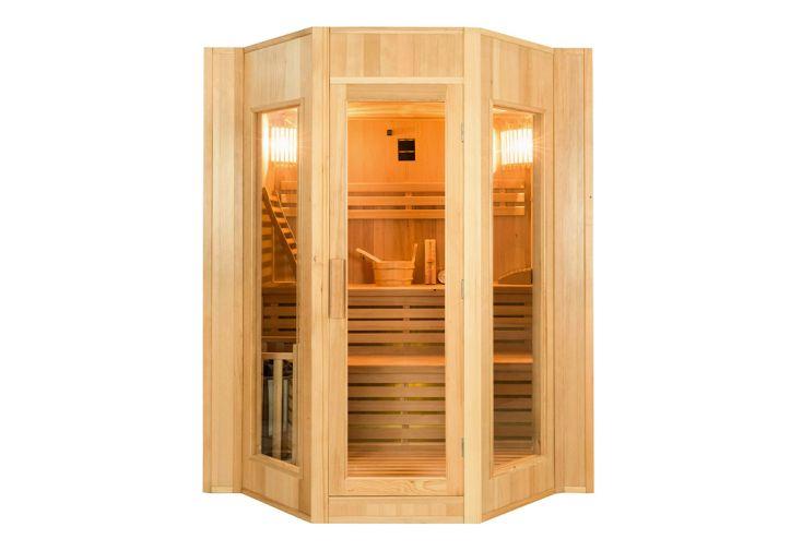 Sauna traditionnel en bois d'épicéa canadien