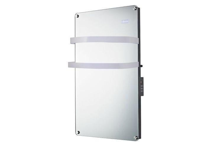 S che serviettes miroir soufflerie 1500 watts drexon - Seche serviette electrique miroir ...