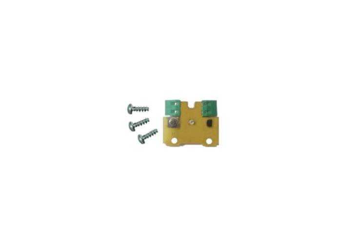 Sonde d'Ambiance Nue avec LED et Bouton Poussoir de Dérogation