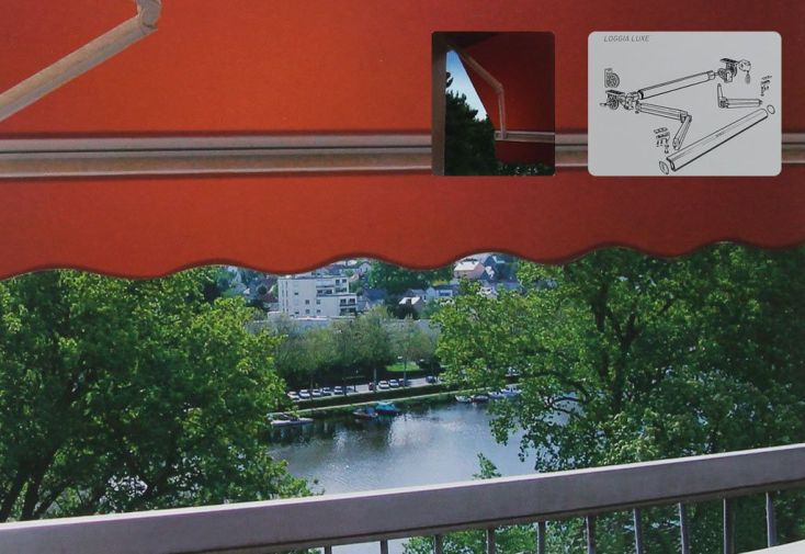 store banne sur mesure storebanne monobloc toile rouge et blanche with store banne sur mesure. Black Bedroom Furniture Sets. Home Design Ideas